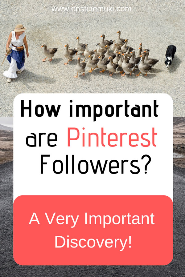 How important are Pinterest Followers? Do you want more followers on Pinterest? See why you should growing your followers. #pinterestfollowers #pinteresttips
