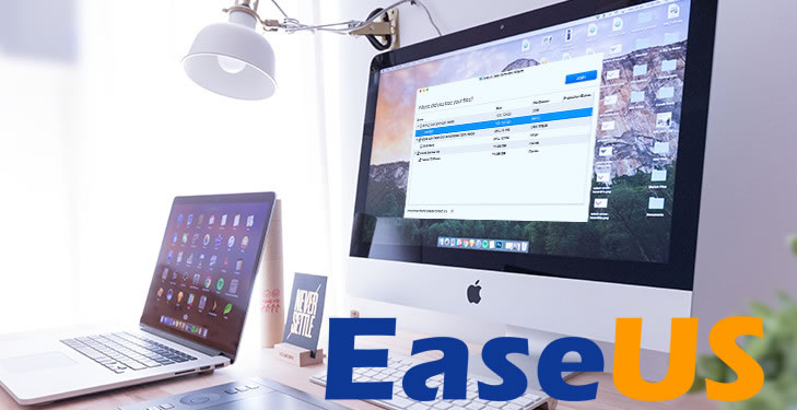 easeUS free file recovery software for mac users
