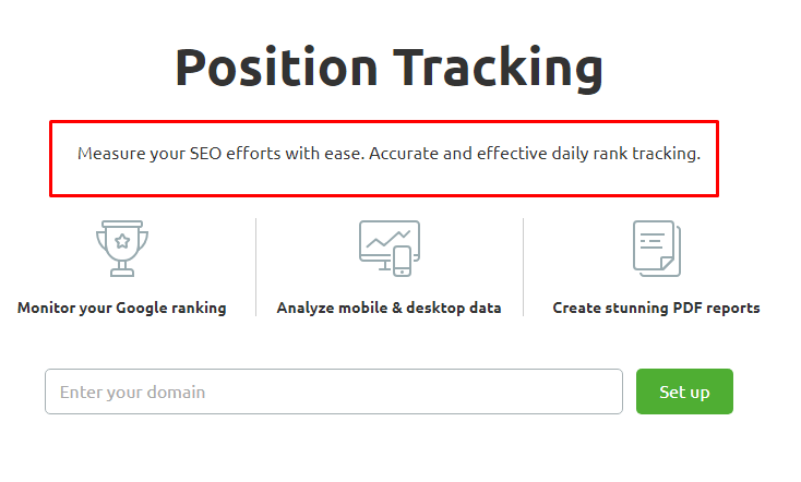 search SERP tracker