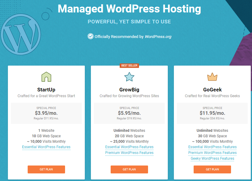 most popular wordpress hosting
