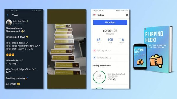 Flipping Heck! - Double Your Income by Flipping Items Online