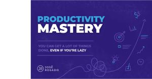 Productivity Mastery Course