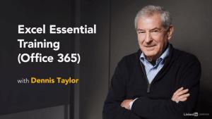 Excel Essential Training