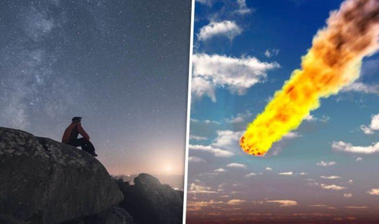 Fireball in the sky