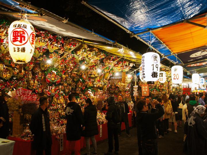 酉の市の新宿/花園神社の2018年の日程や時間は?場所や熊手等の見所