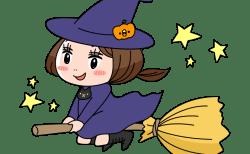 魔女がほうきにまたがる理由はなぜ?由来や関係、材料や通販も!