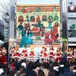 E-girlsからのクリスマスプレゼント!新宿スクエアでサプライズライブ