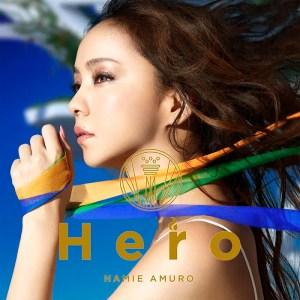 安室奈美恵 Single「Hero」[CD+DVD]ジャケ写