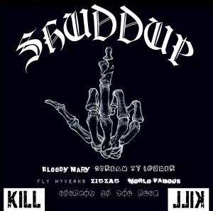 SuG 2ndミニアルバム「SHUDDUP」ジャケ写