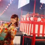 AKB48 全国握手会は会場全体が夏祭り会場に! メンバー全員浴衣で登場するステージイベントも!