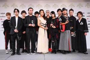 第13回ベストデビュタントオブザイヤー受賞者 ©一般社団法人日本メンズファッション協会