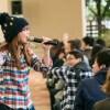 奥華子がふなばしアンデルセン公園の20周年式典にスペシャルゲストとして登壇!母校の後輩とのアカペラ合唱やフリーライブで地元、船橋に凱旋!