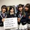 NMB48 上西恵、藤江れいな、薮下柊 SHOWROOMで卒業コンサートの詳細をサプライズ発表