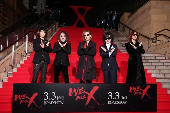 映画『WE ARE X』完成披露ジャパンプレミアより