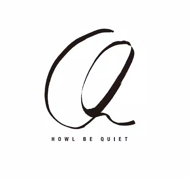 HOWL BE QUIET ティザー・ロゴ
