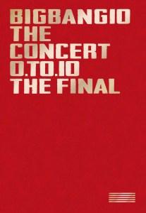 BIGBANG LIVE Blu-ray 『BIGBANG10 THE CONCERT : 0.TO.10 -THE FINAL-』[Blu-ray(3枚組)+LIVE CD(2枚組)+PHOTO BOOK+スマプラムービー&ミュージック] -DELUXE EDITION-ジャケ写