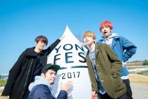 野外フェス<YON FES 2017>より 撮影:ヤオタケシ