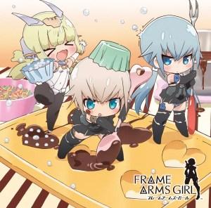 TVアニメ『フレームアームズ・ガール』キービジュアル ©KOTOBUKIYA / FAGirl Project