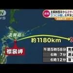 北朝鮮がミサイル発射!日本上空通過して襟裳岬沖東に落下!初のJアラート発令