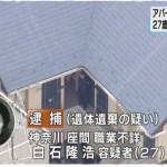 神奈川県座間市アパート9人殺人遺体遺棄事件 被害者の身元が判明!!