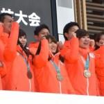 カー娘(カーリング娘)の「そだねー」生披露にファン大喜び!!