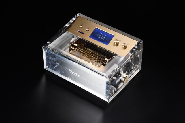1,000曲以上の癒しの楽曲を生演奏。聴覚・視覚を満たし、極上の空間を演出するオルゴール「Primotone ‐プリモトーンクリスタルモデル‐」を発売