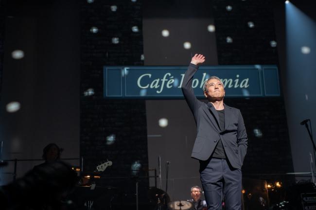 佐野元春の名盤「Café Bohemia」を再現!一夜限りのプレミアムコンサートをWOWOWで全曲オンエア!番組サイトではプロモーション映像公開!