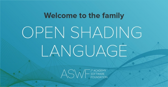 Open Shading LanguageがAcademy Software Foundationの6番目のプロジェクトに