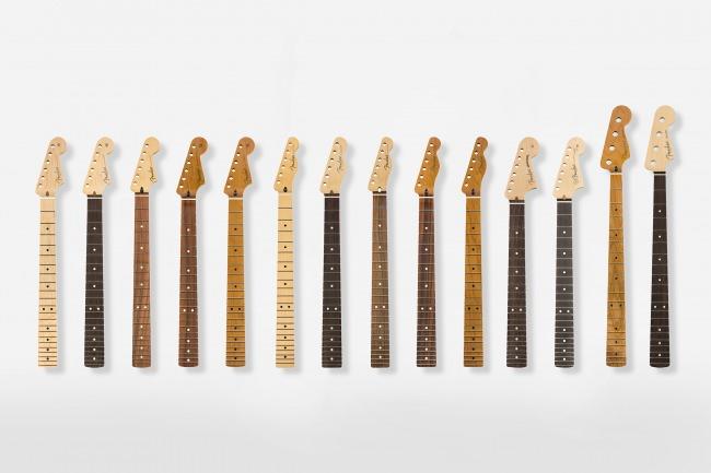 フェンダーエレクトリックギター&ベース用の純正リプレイスメントネックが販売開始。