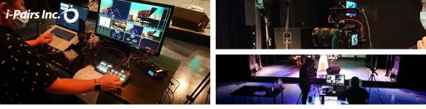 高品質配信スタジオ設備完備。アーティストの配信活動をサポートする『ライブ配信サービス』を2020年7月17日よりサービス開始