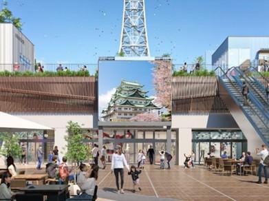 ~日本最大級のPark-PFI事業~メ~テレが久屋大通公園内で大型ビジョン運用を開始!あわせてセントラルパーク内にもデジタルサイネージを設置