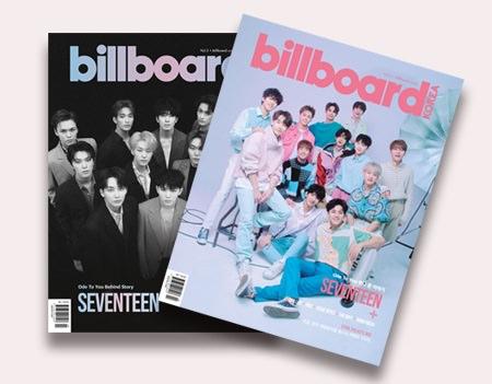 「billboard KOREA Magazine」は「英語版」と「韓国語版」の2冊がセットになっています