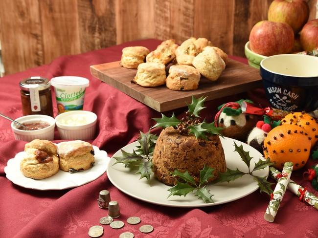英国ドラマ『名探偵ポワロ』にも登場する英国伝統のクリスマス菓子をおうちで気軽に楽しめる!英国菓子研究家、砂古玉緒監修「手作りお菓子キット(オンラインレッスン動画付き)」を発売