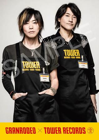 「GRANRODEO × TOWER RECORDS」スペシャル・コラボポスター