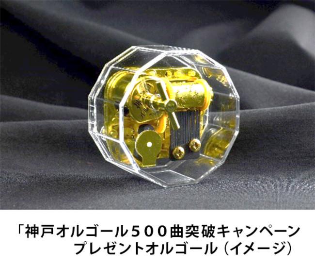 六甲オルゴールミュージアム内で職人が編曲から手掛ける 「神戸オルゴール」楽曲ラインナップ 11年で500曲突破! ~500曲目のオルゴールプレゼントキャンペーンを開催~