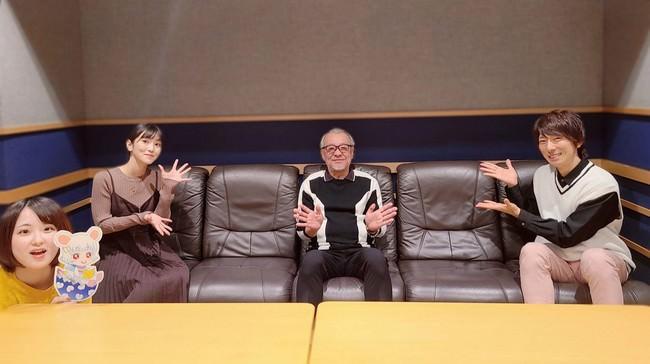 TOKYO FM『羽多野渉と古賀葵 コエ×コエ』10月24日(土)の放送に、声優・中尾隆聖が登場!