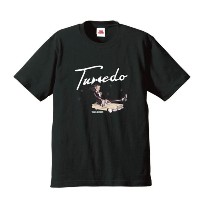 「Tuxedo × TOWER RECORDS オリジナルグッズ」Tシャツ