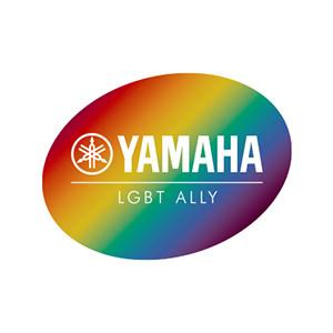 「ヤマハLGBT Ally」ロゴ