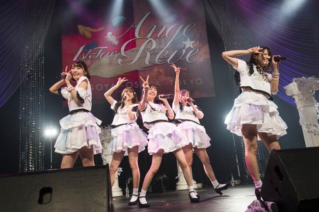 天使から堕天使へステージ上で一瞬の早着替え!Ange☆Reve結成6年で初めてのライブツアー千秋楽ライブレポート!