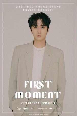 Qoo10、ホ・ヨンセンの初単独オンラインコンサート「FIRST MOMENT」のチケット発売開始!日本限定グッズ付き特別パッケージも同時販売