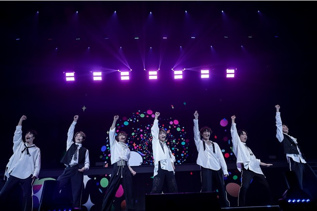 """7ORDER、1stツアー「7ORDER LIVE TOUR 2021 """"WE ARE ONE""""」開幕!"""