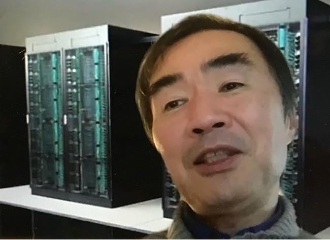 松岡聡さん(リモート出演)