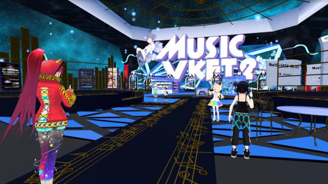 バーチャル空間の音楽展示即売会「MusicVket 2」が好評開催中! PKCZ®など大物アーティストや企業ブースも大盛況