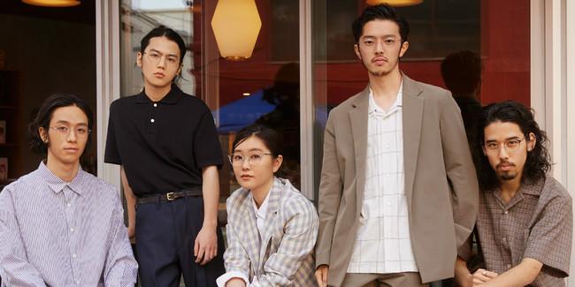 福岡を拠点に活動する4人組バンドyonawo初となる広告出演!