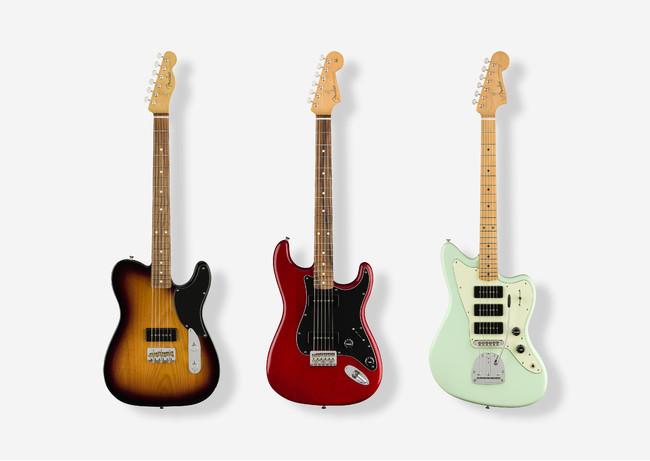 強力なトーンとモダンなプレイアビリティを提供するフェンダーの限定エレキギターシリーズ『NOVENTAシリーズ』国内販売を開始