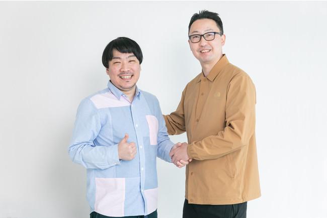 木戸文祥(左)