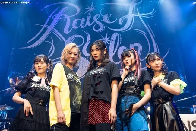 RAISE A SUILEN ZEPP TOUR 2021「BE LIGHT」東京公演 開催報告