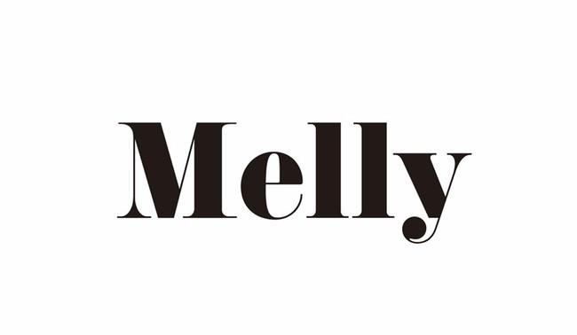 「Melly」ロゴ
