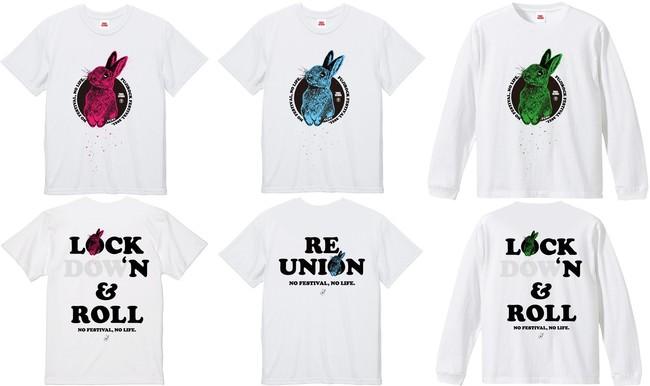 MADBUNNYデザインのメッセージTシャツ