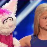 アメリカの美少女腹話術師の名前は?歌の曲名や相棒のウサギについても!